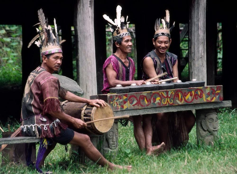 Nhạc cụ truyền thoogns của người Dayka