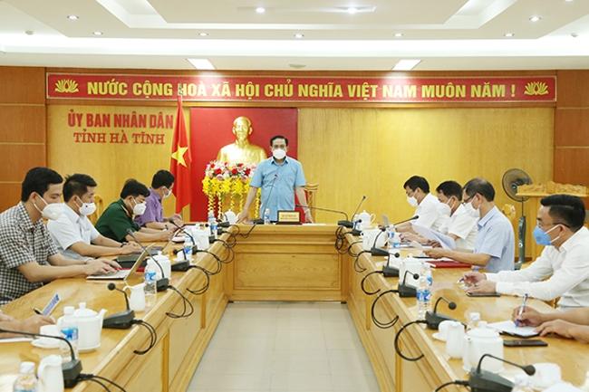 UBND tỉnh Hà Tĩnh họp bàn phương án đón công dân từ vùng dịch trở về địa phương