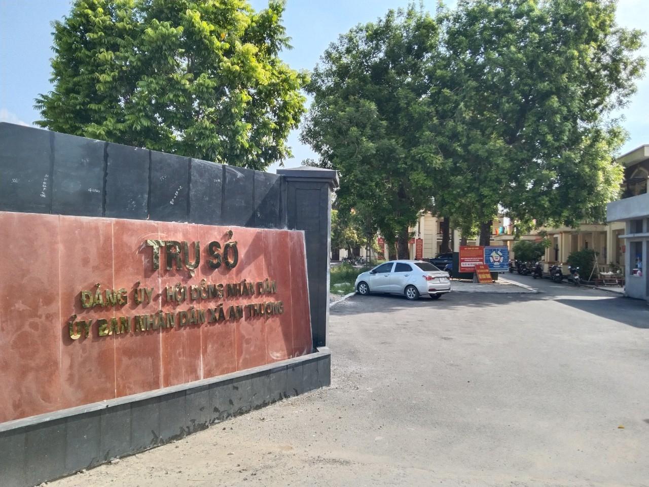 Trụ sở UBND xã An Thượng, huyện Hoài Đức