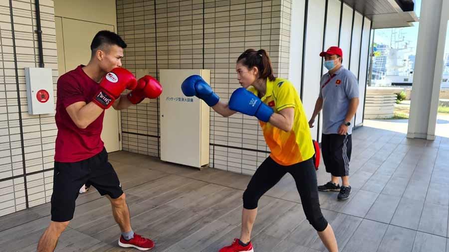VĐV boxing Nguyễn Văn Đương và Nguyễn Thị Tâm lần đầu tiên tham dự Thế vận hội.
