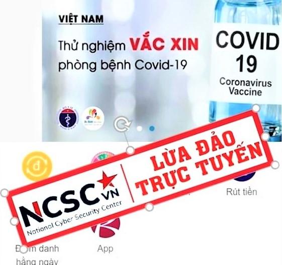 NCSC cảnh báo các hiện tượng lừa đảo trực tuyến gần đây
