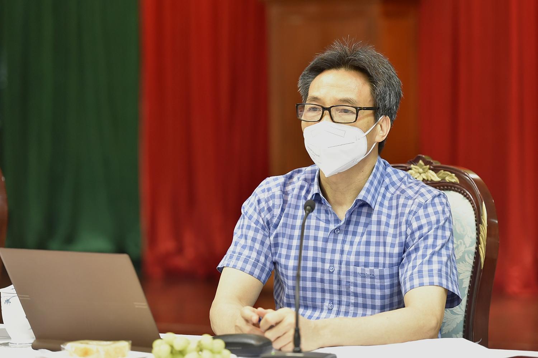 Phó Thủ tướng Vũ Đức Đam yêu cầu Đồng Nai phải thực hiện thật nghiêm giãn cách xã hội theo Chỉ thị 16/CT-TTg, có như vậy mới chặn được dịch - Ảnh: VGP/Đình Nam