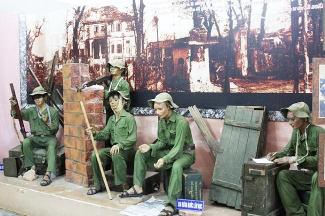 Mô hình phút nghỉ ngơi của các chiến sĩ sau những trận đánh