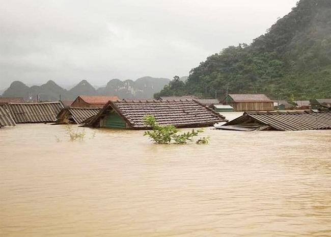 Mưa lũ lịch sử tháng 10/2020 gây ngập lụt lớn tại Quảng Bình. (Ảnh tư liệu)