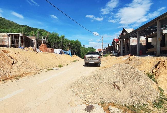 Dự án Khu TĐC thôn Đạm Thủy 1 - 2 xã Thạch Hóa về cơ bản đã hoàn thiện, đáp ứng việc định cư cho người dân trước mùa mưa bão năm nay