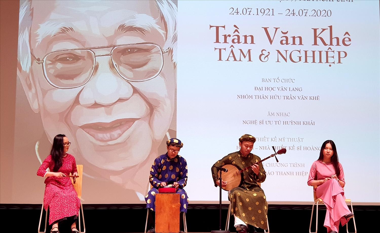 """Cố Giáo sư Trần Văn Khê: Người """"truyền lửa"""" tình yêu âm nhạc dân tộc 3"""