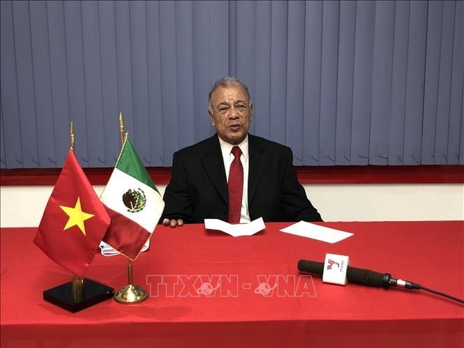 Tổng Bí thư Đảng Lao động Mexico (PT) Alberto Ayana Gutiérrez trả lời phỏng vấn TTXVN