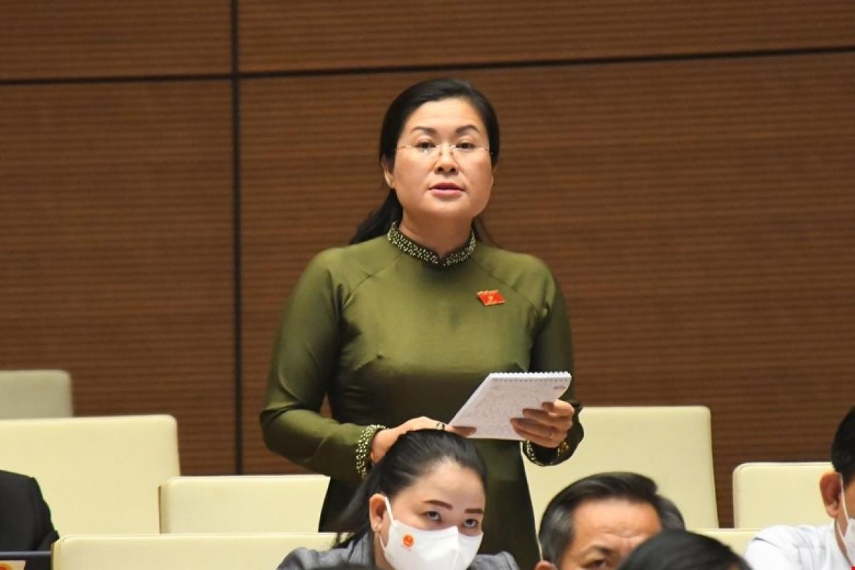 Đại biểu Nguyễn Thị Minh Trang