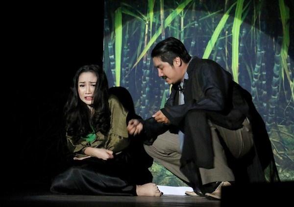 Một vở diễn ở Sân khấu kịch Phú Nhuận. (Ảnh minh họa: Sân khấu kịch Phú Nhuận)