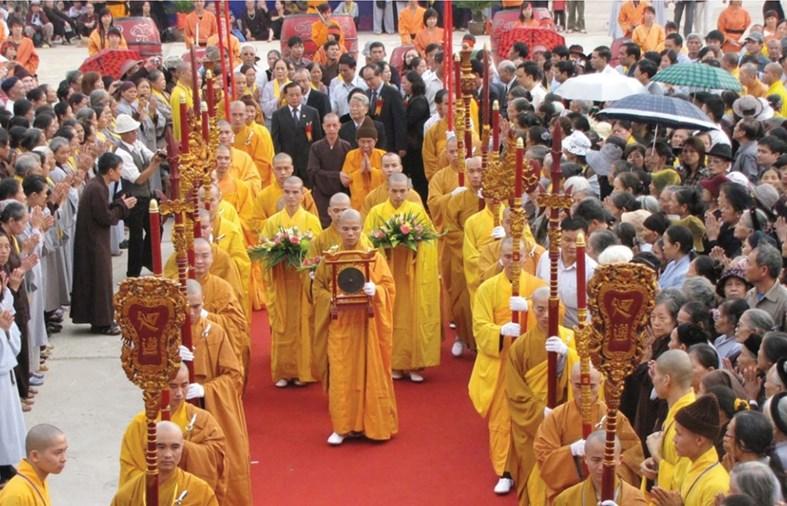 Quyền tự do tín ngưỡng, tôn giáo tại Việt Nam luôn được bảo đảm. Ảnh minh họa (ảnh chụp trước khi dịch Covid-19 bùng phát)