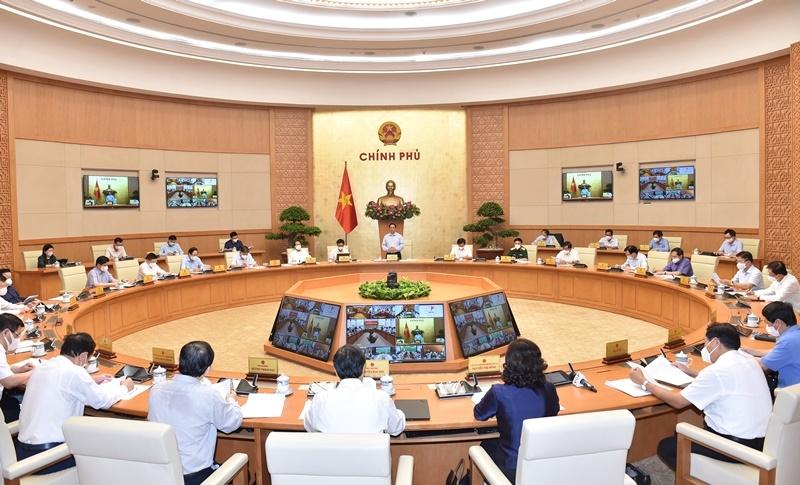 """Thủ tướng Phạm Minh Chính: Cần có cách tiếp cận, giải pháp mới để tiếp tục thực hiện """"mục tiêu kép"""" 1"""