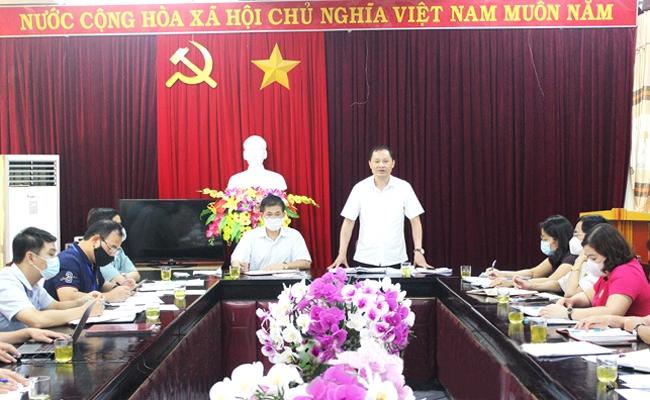 Đại diện Tổ Công tác phát biểu kết luận tại cuộc kiểm tra