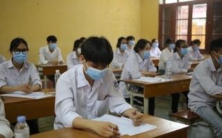 Thí sinh dự thi tốt nghiệp THPT đợt 1 năm 2021 tại TP. Hồ Chí Minh (Ảnh minh họa)
