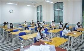 Các thí sinh tham dự đợt 1 Kỳ thi tốt nghiệp THPT năm 2021