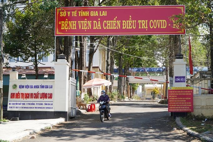 Bệnh viện Đa khoa tỉnh được chuyển thành bệnh viện dã chiến điều trị Covid-19