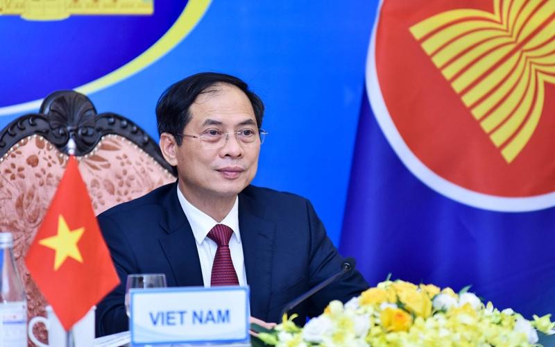 Bộ trưởng Ngoại giao Bùi Thanh Sơn tại Hội nghị ACC lần thứ 29