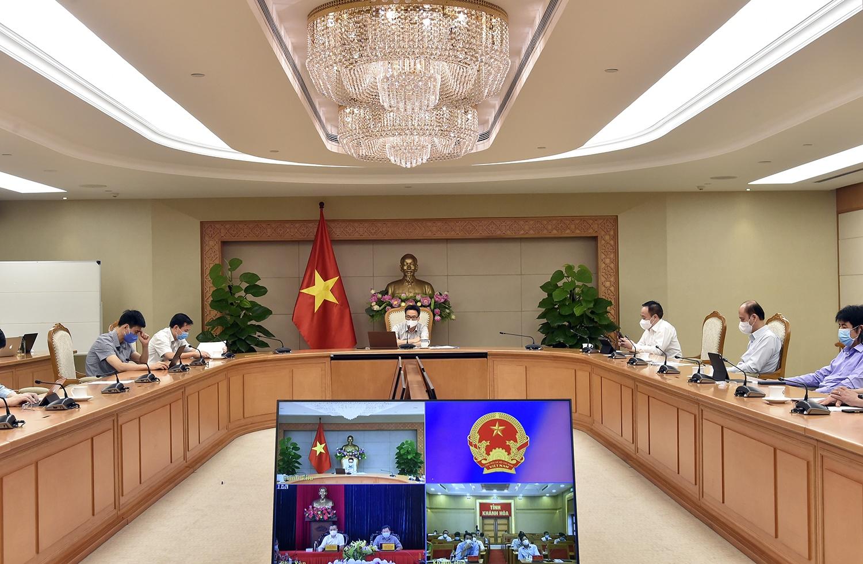 Ban Chỉ đạo yêu cầu Phú Yên, Khánh Hòa đặc biệt lưu ý đến các khu tiếp nhận người nhiễm (F0) không triệu chứng, giảm tối đa tỷ lệ chuyển sang có triệu chứng. Ảnh: VGP/Đình Nam