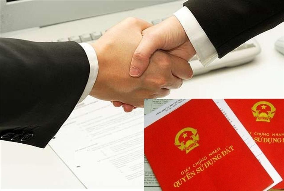 Pháp luật không cấm trường hợp chưa đăng ký kết hôn thì không được đứng tên đồng sở hữu trên sổ đỏ. Đồ họa: M.H