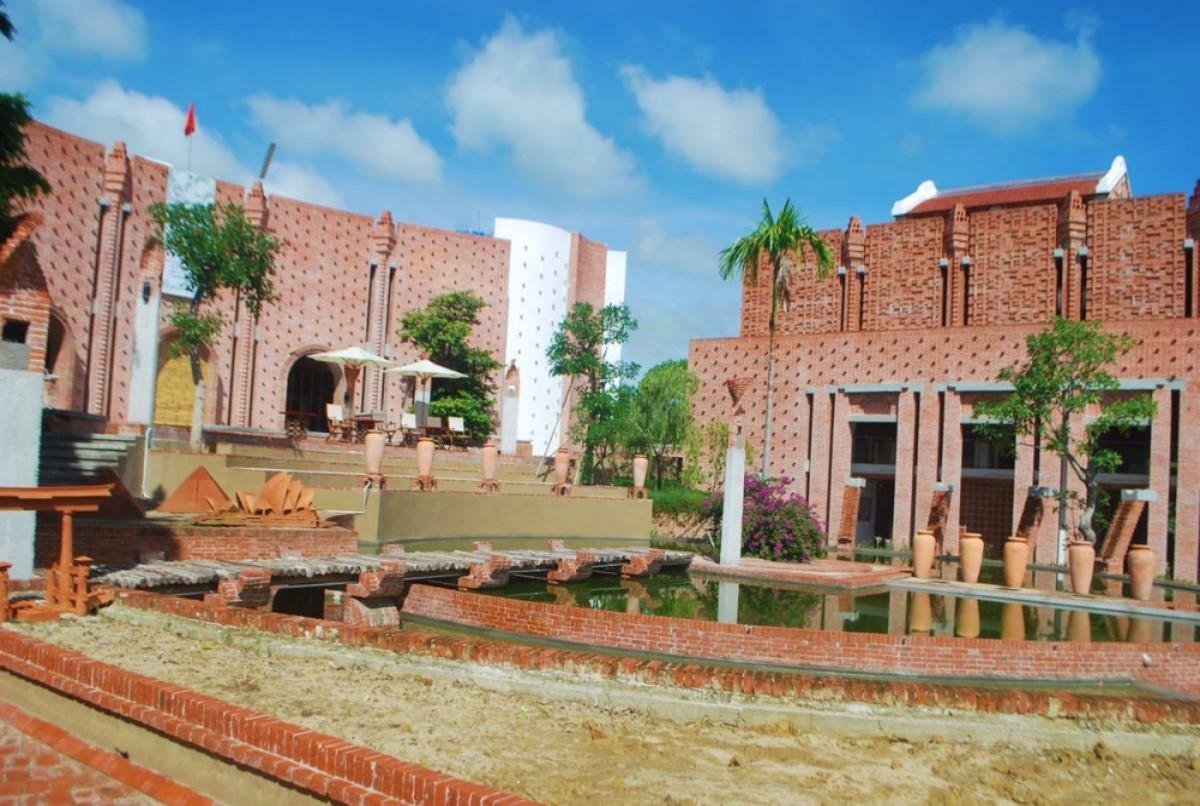Mặt tiền Khu Công viên văn hóa đất nung Thanh Hà
