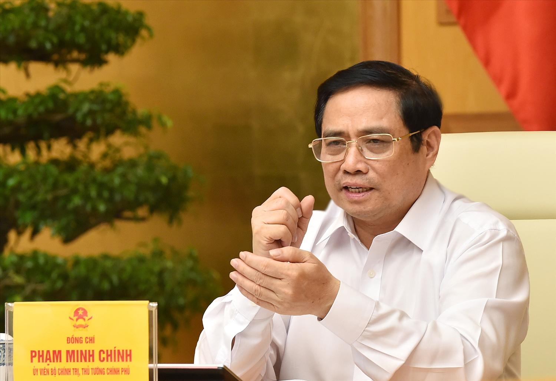 Thủ tướng Phạm Minh Chính: 312 xã phường tại TP. Hồ Chí Minh là 312 pháo đài phòng chống dịch - Ảnh: VGP/Nhật Bắc