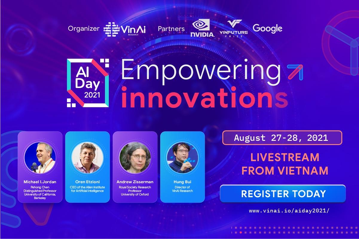 Các chuyên gia xuất sắc nhất thế giới về AI và các chuyên gia hàng đầu của Việt Nam cùng đóng góp ý tưởng phát triển AI tại Việt Nam
