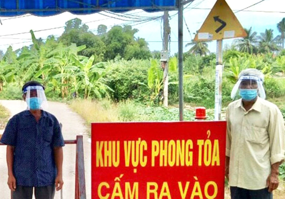 Toàn tỉnh Khánh Hòa hiện có 289 điểm phong tỏa tạm thời. Trong đó, vùng đồng bào DTTS và miền núi có 6 điểm