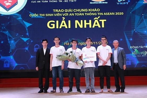Lễ trao giải Sinh viên với An toàn thông tin ASEAN năm 2020