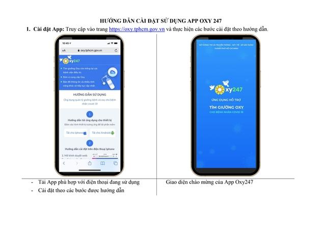 TP. Hồ Chí Minh triển khai ứng dụng hỗ trợ tìm giường oxy cho bệnh nhân COVID-19 1