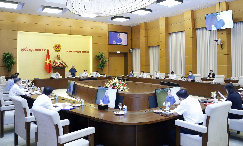 Chủ tịch Quốc hội nghe báo cáo về việc chuẩn bị giám sát trong năm 2022 1