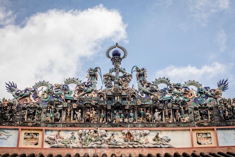 Kiến trúc Hội quán Minh Hương Gia Thịnh được gìn giữ nguyên vẹn