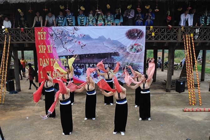Những năm gần đây, đồng bào dân tộc Thái ở nhiều vùng miền đất nước thường xuyên về đây giới thiệu các hoạt động văn hoá truyền thống như: Lễ hội, phong tục tập quán, ẩm thực, nghề thủ công truyền thống, trò chơi dân gian...giúp công chúng hiểu hơn về nền văn hoá lâu đời của dân tộc Thái
