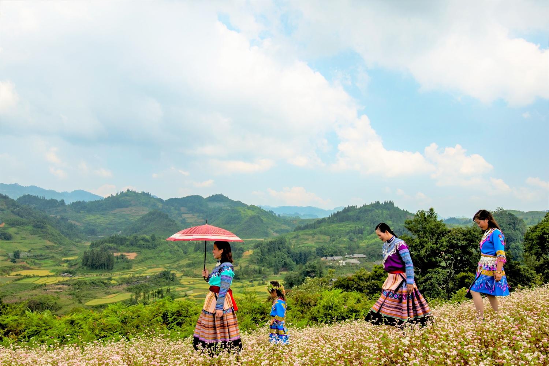 Phụ nữ người Mông ở Bắc Hà (Lào Cai) hôm nay