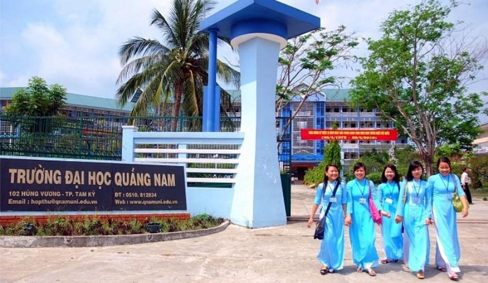 Đại học Quảng Nam đang tính phương án sáp nhập với Đại học Đà Nẵng. (Ảnh chụp trước khi dịch Covid-19 bùng phát)