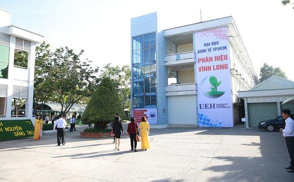 Trường Cao đẳng Kinh tế tài chính Vĩnh Long được sáp nhập và trở thành phân hiệu Trường Đại học Kinh tế TP. Hồ Chí Minh tại Vĩnh Long. Ảnh: K.T