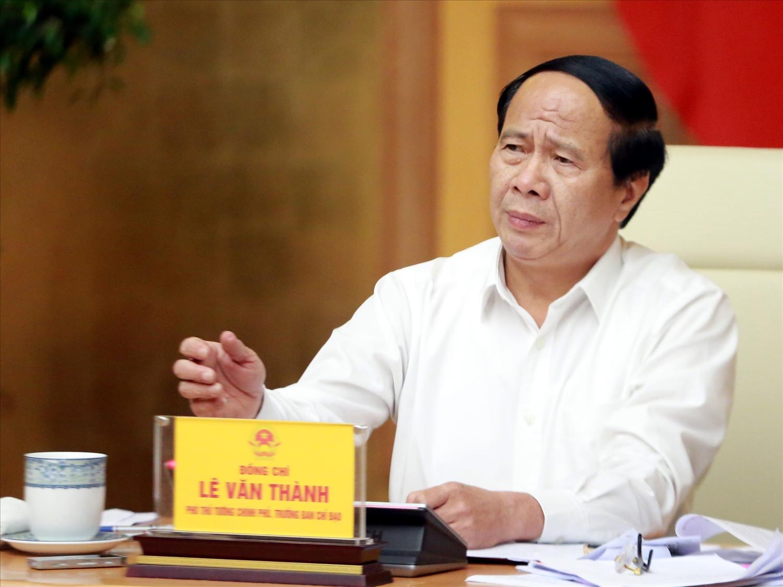 Phó Thủ tướng Lê Văn Thành: Phải khắc phục bằng được các tồn tại, hạn chế của ngành Điện - Ảnh VGP/Đức Tuân