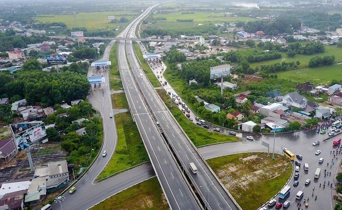Năm 2025, cơ bản hoàn thành cao tốc Bắc - Nam phía Đông. Ảnh minh họa
