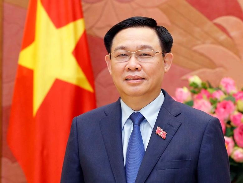 Chủ tịch Quốc hội Vương Đình Huệ (Ảnh: QH)