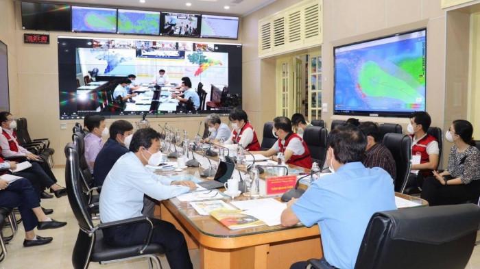 Ban chỉ đạo TƯ về PCTT họp ứng phó với bão Côn Sơn sáng 8/9/2021