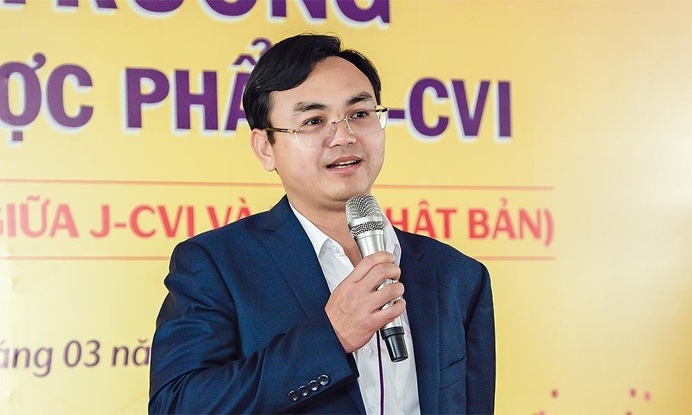 Doanh nhân Phan Văn Hiệu, Chủ tịch HĐQT, Tổng giám đốc CVI Pharma.