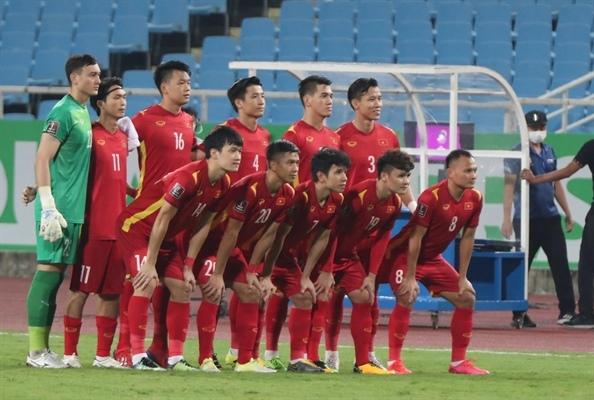 Đội hình ra sân của đội tuyển Việt Nam