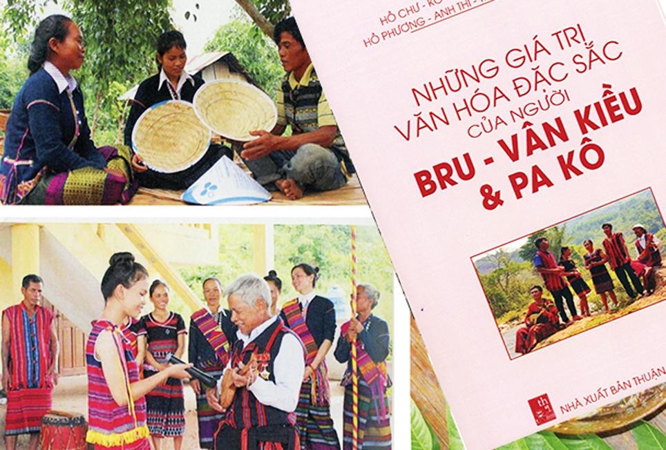 Một số hình ảnh được trình bày trong cuốn sách Những giá trị văn hóa đặc sắc của người Bru Vân Kiều và Pa Kô (tập 1)