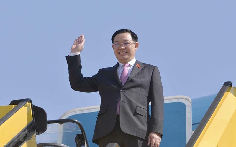 Chủ tịch Quốc hội Vương Đình Huệ. (Ảnh: Doãn Tấn/TTXVN)