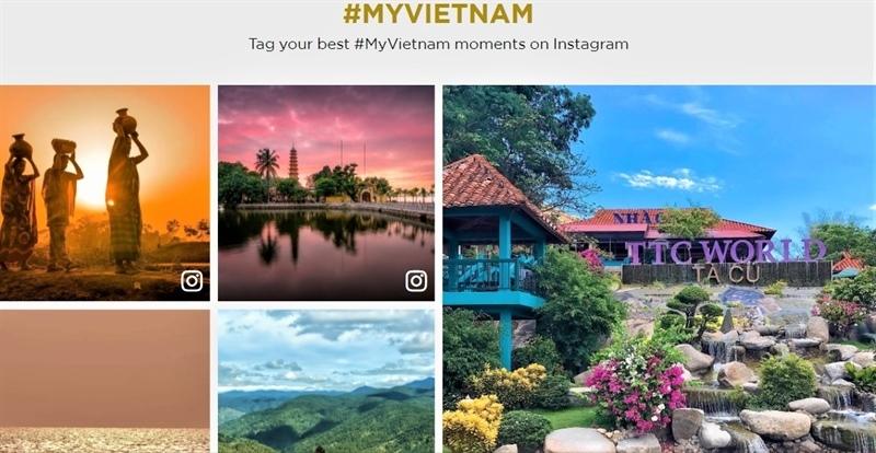 Đẩy mạnh quảng bá du lịch Việt Nam trên các kênh truyền thông, các sự kiện du lịch trực tuyến. Ảnh VŨ AN