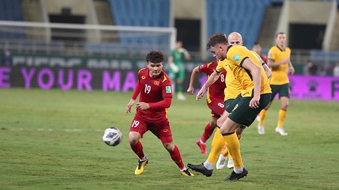 Nếu Quang Hải ghi được bàn thắng trận gặp Australia tình thế sẽ khác. Ảnh: Hoàng Linh