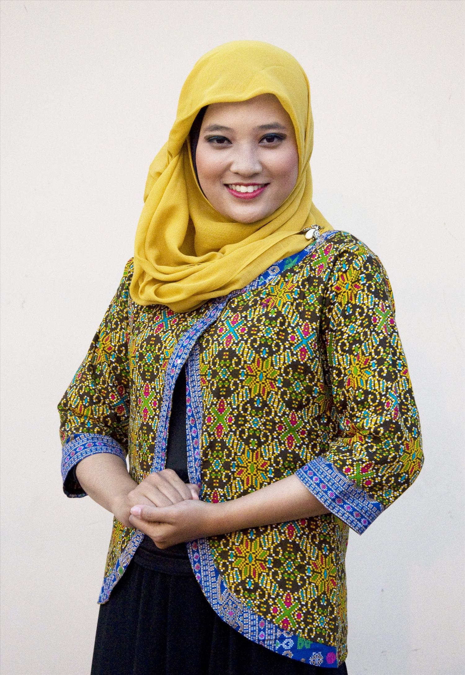 Vẻ đẹp truyền thống của cô gái Indonesia