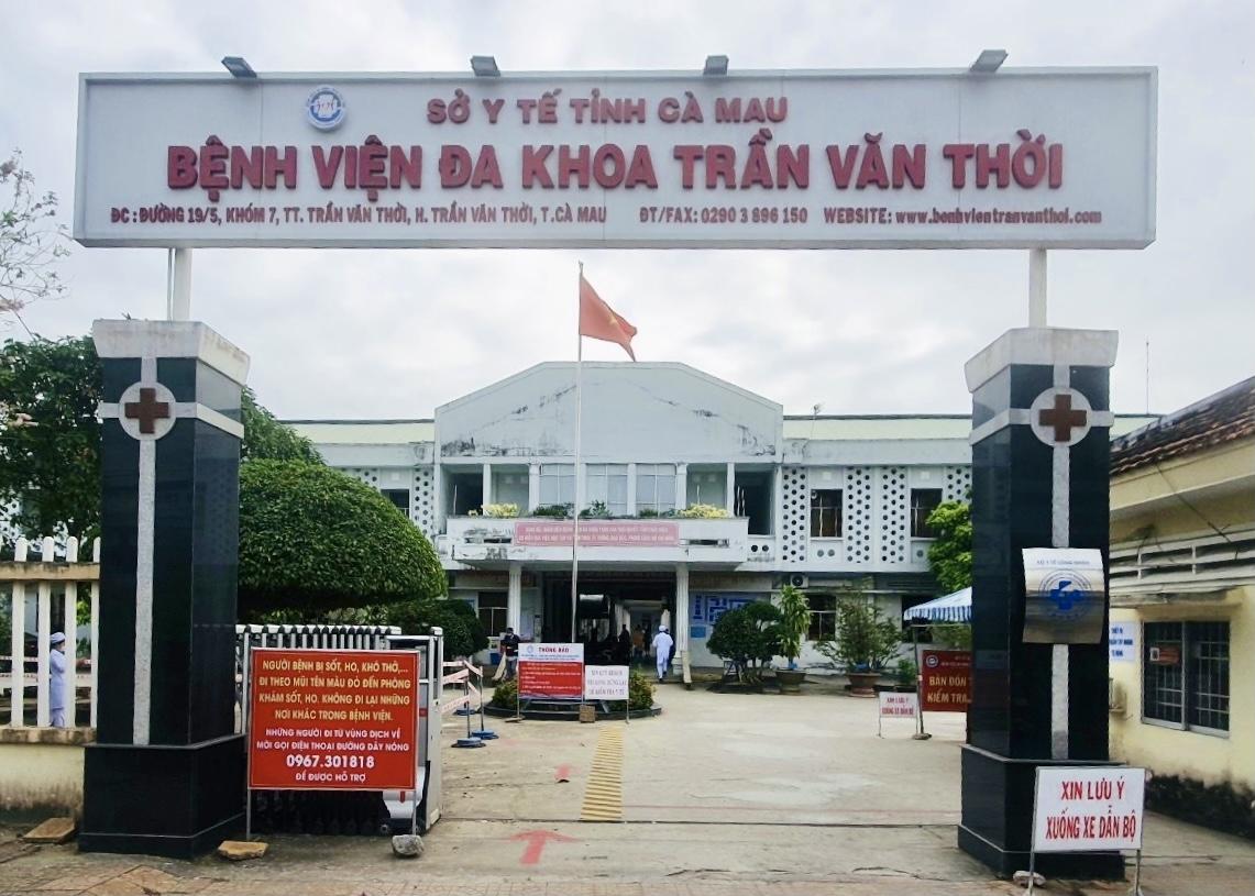 Nơi điều trị bệnh nhân nhiễm SARS-CoV-2 của tỉnh Cà Mau