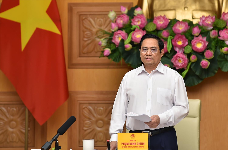 Thủ tướng khẳng định Chính phủ Việt Nam luôn sẵn sàng tạo điều kiện và đồng hành để các doanh nghiệp EU đầu tư, kinh doanh thuận lợi tại Việt Nam. Ảnh: VGP/Nhật Bắc