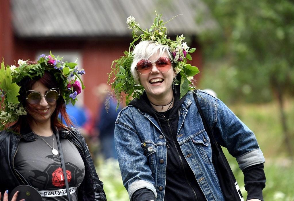 Người Phần Lan hạnh phúc vì họ luôn yêu và sống hòa mình với thiên nhiên (Ảnh: NY Times)