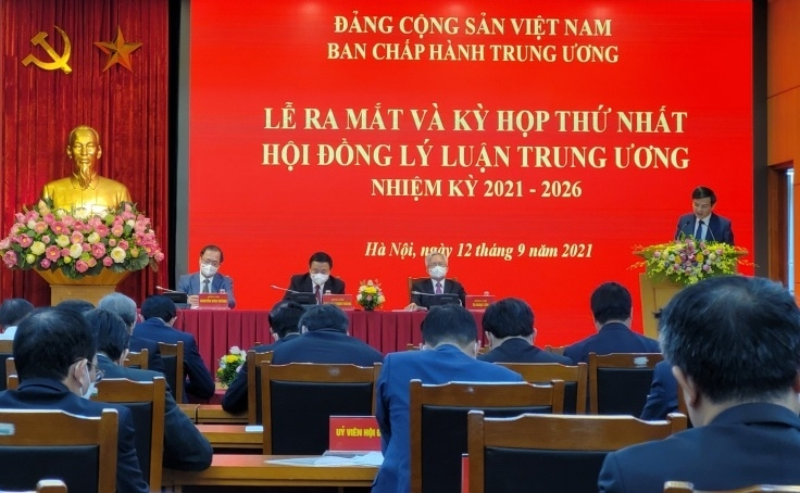 Lễ ra mắt và Kỳ họp thứ nhất Hội đồng lý luận Trung ương, nhiệm kỳ 2021 - 2026