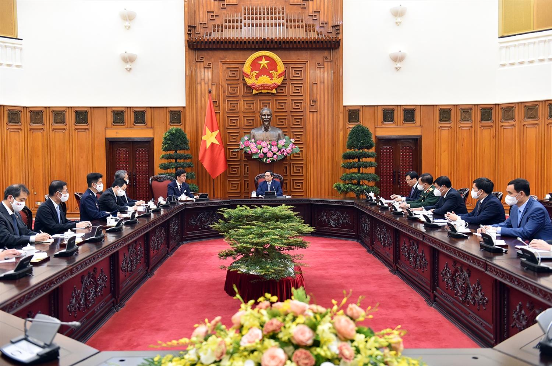 Việt Nam sẽ tiếp tục tạo môi trường đầu tư minh bạch, thuận lợi và sẵn sàng đồng hành, giải quyết các khó khăn, vướng mắc của các doanh nghiệp nước ngoài, trong đó có các doanh nghiệp Nhật Bản. Ảnh VGP/Nhật Bắc